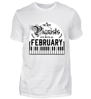 The best Pianists are born in February