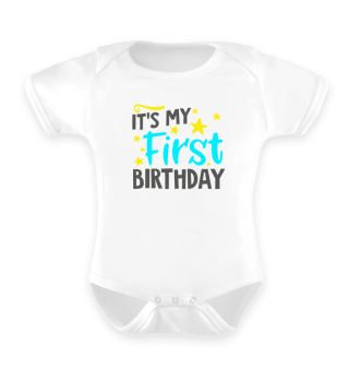 Baby Kid Boy First Birthday