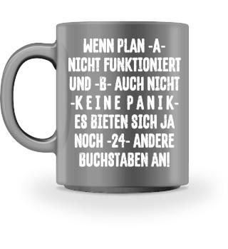 ★ Keine Panik Plan A funktioniert II