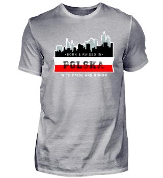 Polen geboren und aufgewachsen