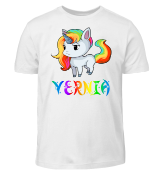 Vernia Unicorn Kids T-Shirt