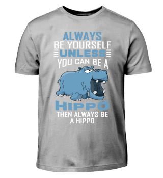 Hippo T-Shirt Kids