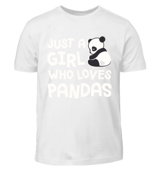 Cute Panda Lover Shirt for Kids