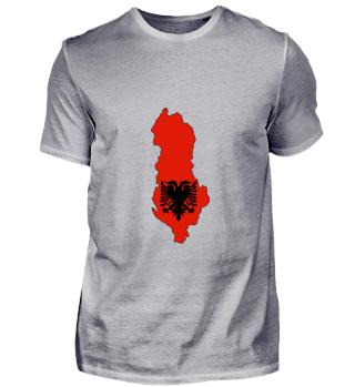 Albanien Landkarte