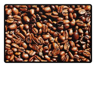 Foto - Geröstete Kaffeebohnen