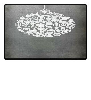 ★ Icons Christmas Tree Ball - white