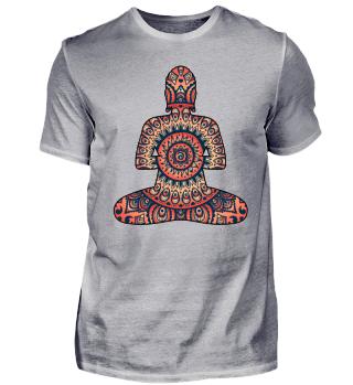 Folklore Mandala Silence Holy Buddha II