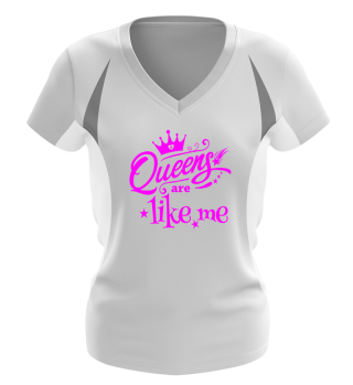 ♥ Queens Are Like Me - pink