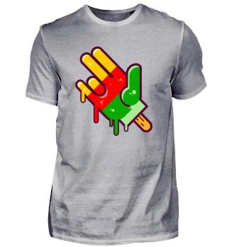 Flutschfinger Funny Finger Shocker Hand