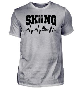 Ski fahren skiing