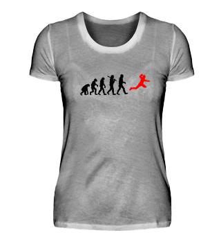 Evolution Handball Team Spieler Geschenk Gift Geburtstag Birthday Bday Silhouette Darwin