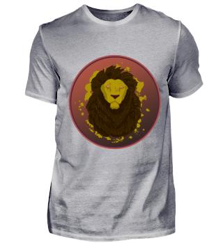 Lion Face Black Badge