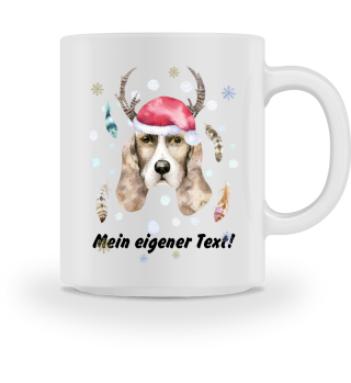 ☛ Merry Christmas · Boho Dog #4CPT