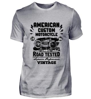 ☛ American Custom Motorcycle · Vintage #2.1