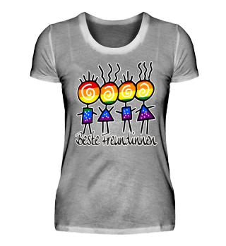 Pop Art - LGBT - Beste Freundinnen