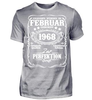 Legenden Februar Geburtstag 1968 50. Geburtstag