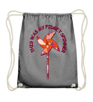 My fidget spinner - Kinder Windrad