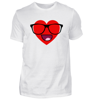 Valentine's Day Smile Couple Shirt