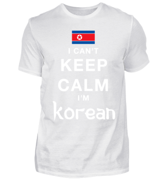 I can´t Keep Calm - Korean