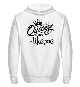 ♥ Queens Are Like Me - black
