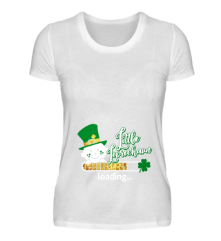Little Leprechaun baby loading St Patricks day