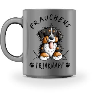 Frauchens Trinknapf Berner Sennenhund