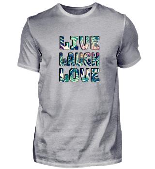 Live Laugh Love - Valentine