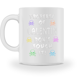 Property of Valentin Mug