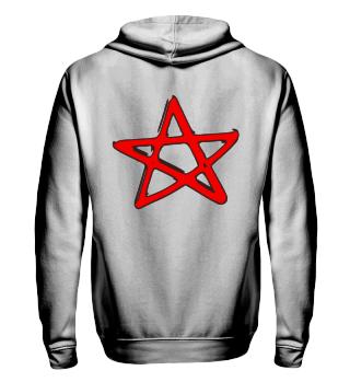 Pentagramm Fünfstern Hexen Heavy Metal