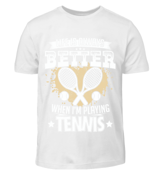 Always better when playing tennis