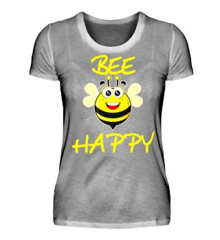 Bee happy fröhliche Biene