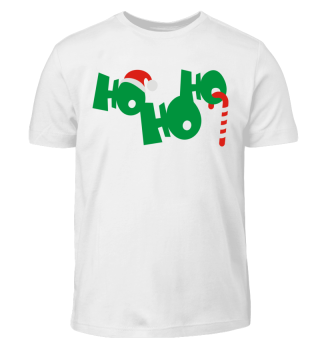 Christmas HO HO HO - Cap Candy Cane