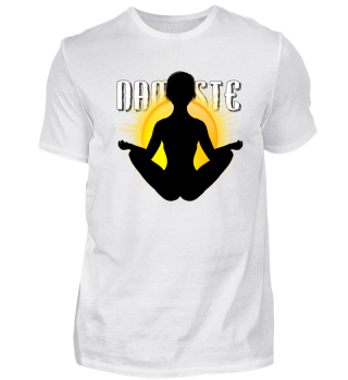 Meditation Sonne Namaste
