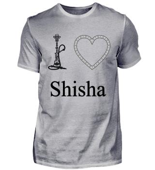 I LOVE SHISHA! Shishasymbol