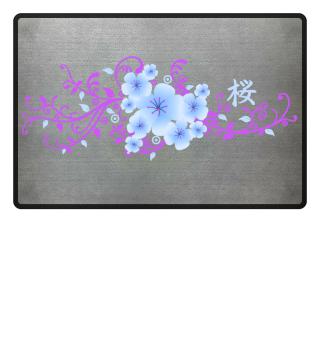 ♥ Cherry Blossom Kanji SAKURA 6