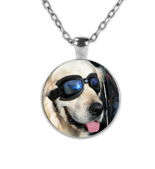 Cooler Hund Halskette