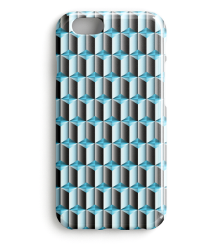 Blaues Smartphone Muster 0032
