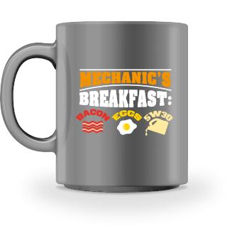 CARS/MECHANICS: Mechanic's Breakfast