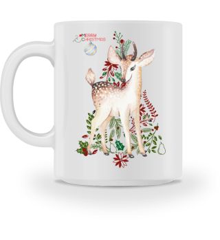 ♥ MERRY CHRISTMAS · DEER #4BT