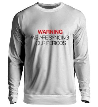 WARNING (Sweater/rosa)
