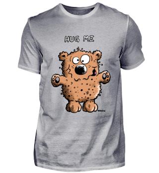 Lustiger Hug Me Braunbär - Bär - Teddy