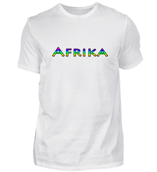 T-Shirt - Afrika - Africa Africa