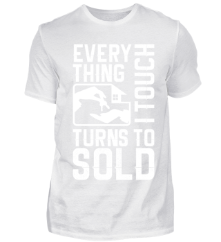 TURNS TO SOLD - REAL ESTATE SHIRT
