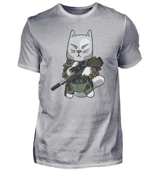 Tactical Cat Sniper