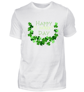Happy Irish Shamrock ST Patricks Day