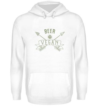 Beer Is Vegan Drinking Quote