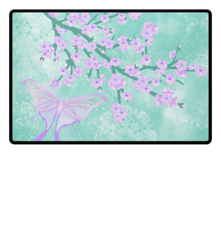 ♥ Cherry Blossoms Butterfly Mandala 3