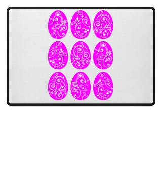 ★ Nine Boho Ornaments Easter Eggs 8