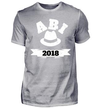 ABI 2018 - Cooles Abschlußshirt mit Hut