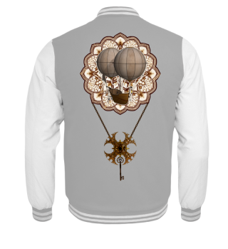 ★ Vintage Steampunk Travel Mandala 1